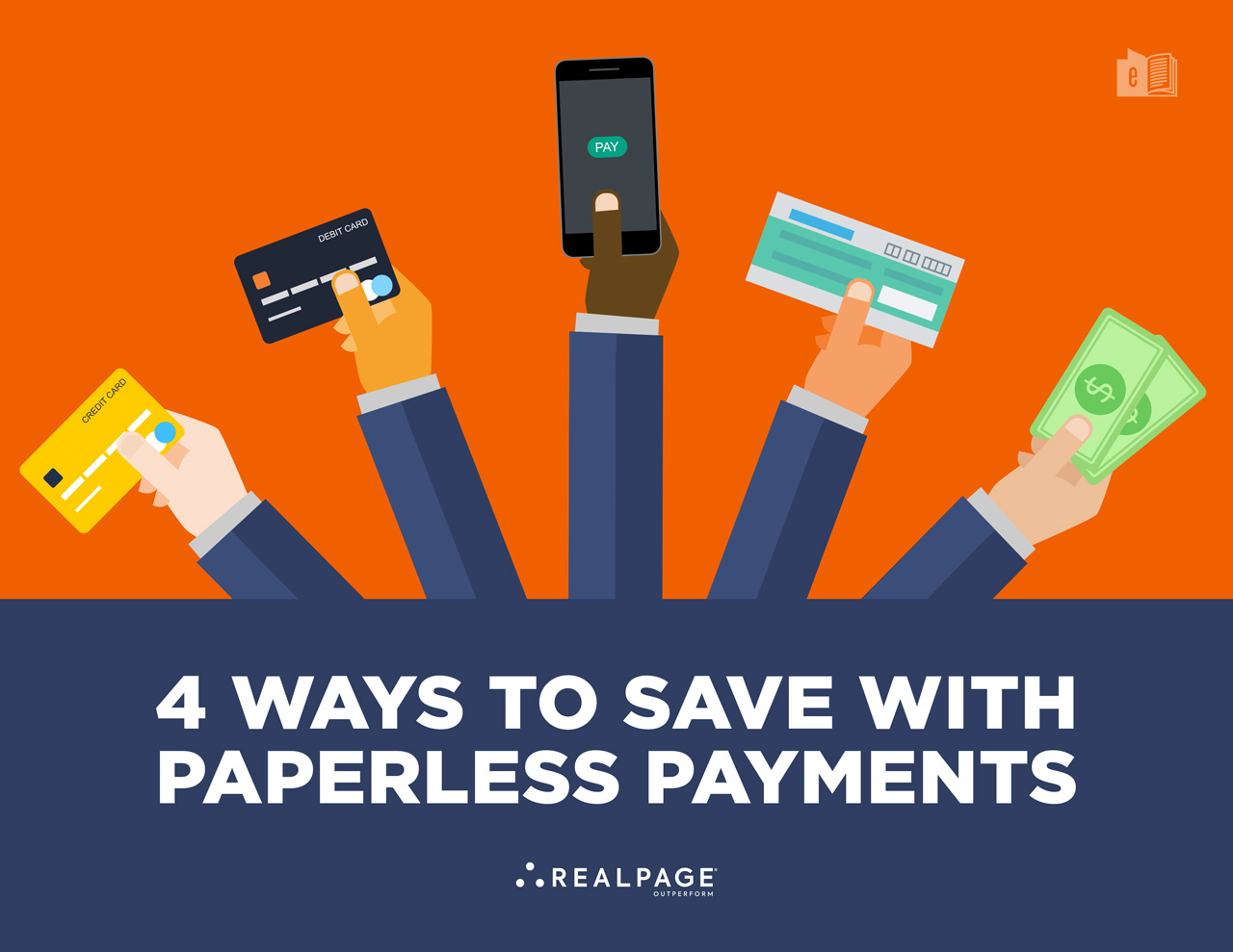 get the ebook: 4 ways to save with paperless payments